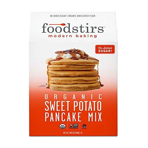 FOODSTIRS Organic Sweet Potato Pancake Mix, 19.5 OZ