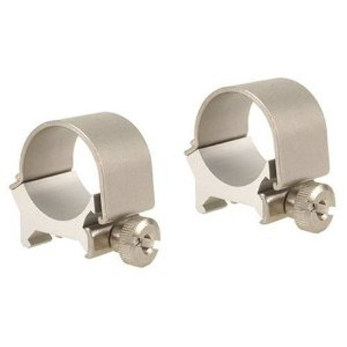 Weaver Detachable Medium Top Mount Rings, 1-Inch, Silver