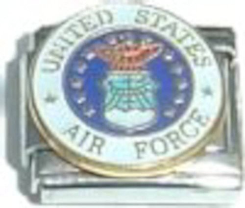 United States Air Force Italian Charm