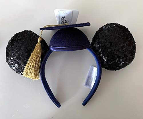 Disney Parks 2019 Graduation Mickey Minnie Mouse Ears Headband