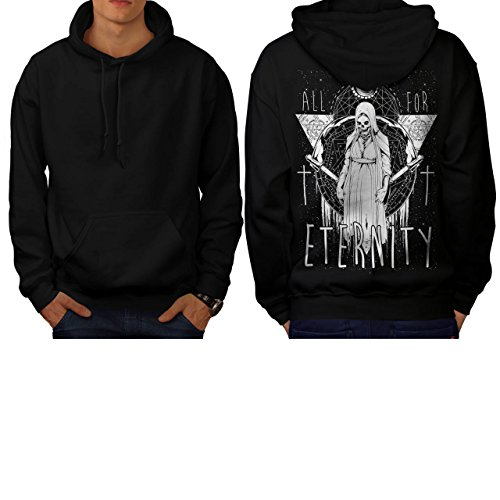 All For Eternity Fear Evil Queen Men S Hoodie Back | Wellcoda (Voodoo Queen Costume)