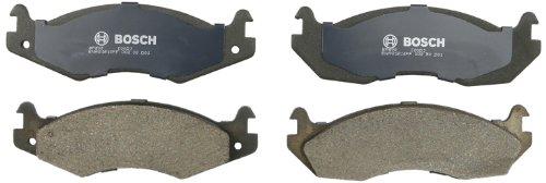 Bosch BP203 QuietCast Premium Semi-Metallic Disc Brake Pad Set For Select American Motors Concord, Eagle, Spirit; Jeep Cherokee, CJ5, CJ7, Comanche, Scrambler, Wagoneer, Wrangler; - Wagoneer Brake Disc
