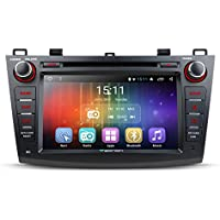 Eonon GA7163S 8 Android 6.0 Car DVD Player for Mazda 3 2010-2013 Quad-Core GPS Radio Double Din Stereo Plug & Play