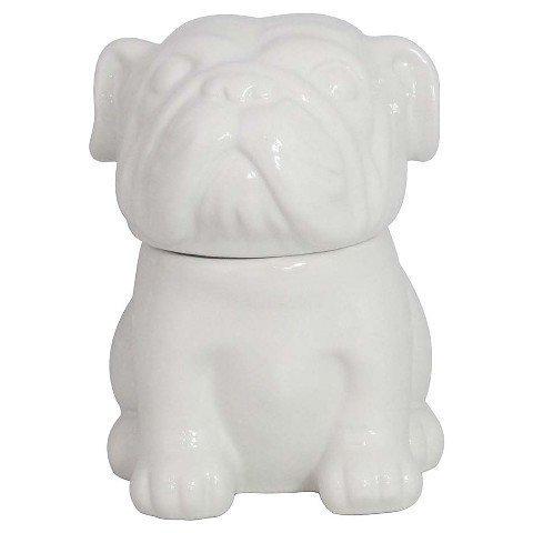 Threshold English Bulldog Cookie Jar - White (65oz.)