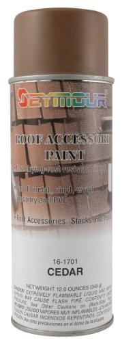 (Seymour 16-1701 Roof Accessory Paint, Cedar)