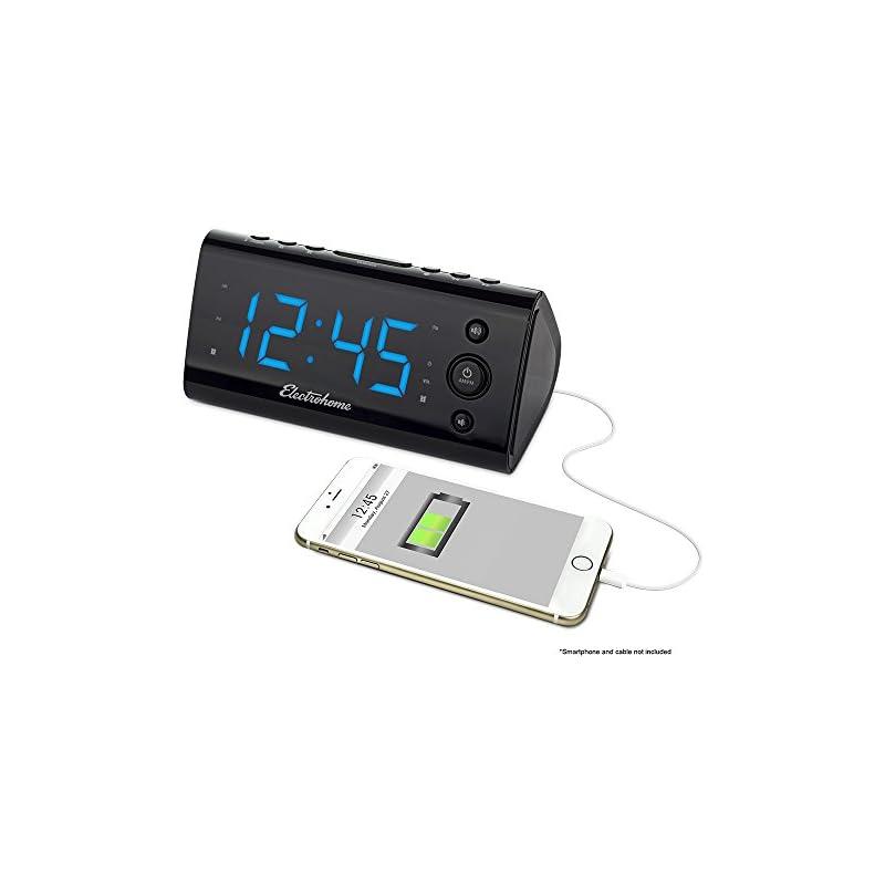 electrohome-alarm-clock-radio-with