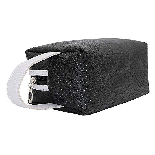 - Yu2d  Fashion Quartet Crocodile Handbag Cosmetic Bag BK(Black)