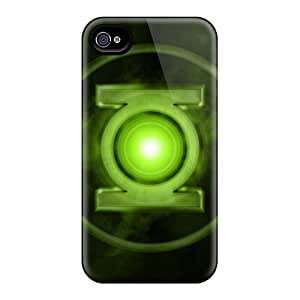 Iphone Case - Tpu Case Protective For Iphone 4/4s- Green Lantern