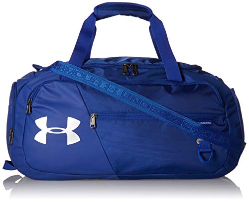 Under Armour Undeniable Duffle 4.0, Royal/Silver, X-Small (Under Armour Basketball Bag)