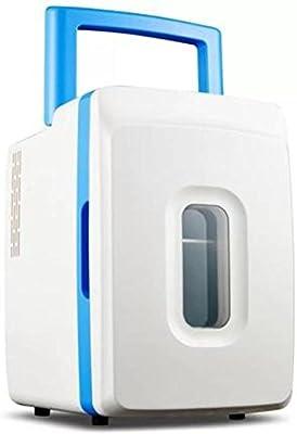 LE Frigoríficos mini Refrigerador del Coche 12L Hogar del Coche Pequeño congelador del Dormitorio casero Mini refrigerador,Blue_37*29 * 25cm
