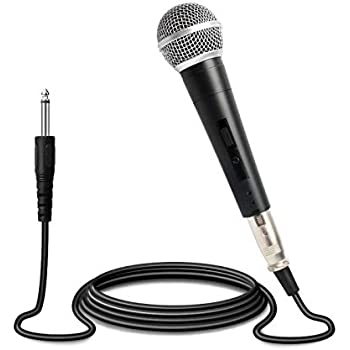 microphone plug play professional dynamic microphone cardioid vocal wired. Black Bedroom Furniture Sets. Home Design Ideas