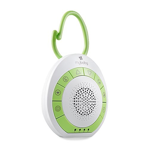 MyBaby Soundspa On-the-Go - Portable White Noise Machine (Noise Machine Travel)