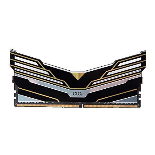 OLOy DDR4 RAM 32GB (1x32GB) Warhawk Aura Sync RGB 3600 MHz CL18 1.35V 288-Pin Desktop Gaming UDIMM (MD4U323618DESA)