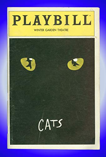 Cats, Broadway playbill + Terrence V. Mann, Betty Buckley, Bonnie Simmons
