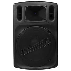 "Audiopipe DJAP1580BT Audiopipe 15"" Professional Loudpeaker Bluetooth FM Tuner USB/SD Remote"