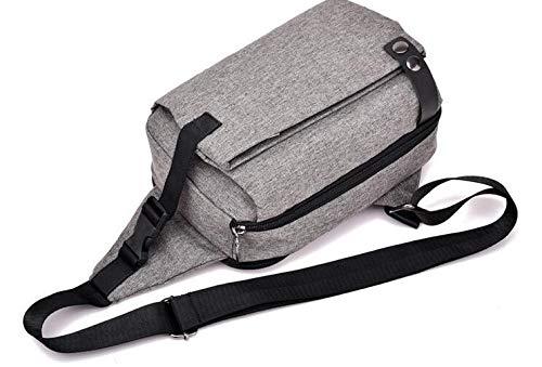 gris De Air En Bandoulière Sac Dos Kinttnyfgi Hommes Mode Sports D'épaule Polyester Pour Plein À Multifonction Femme wvAxZq