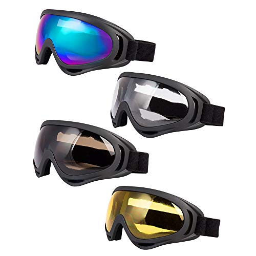 Used, LJDJ Ski Goggles, Pack of 4 - Snowboard Adjustable for sale  Delivered anywhere in USA