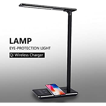 Jabees Q9 Led Desk Lamp With Qi Wireless Charger For
