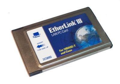 3COM - LAN PC CARD -NO CABLE - 3C589D ()