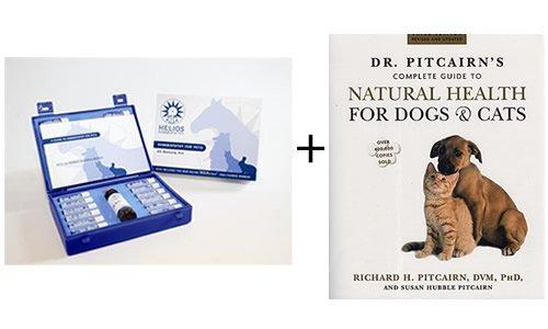 Гомеопатия World Cat и Dog Pack - Книга плюс Гомеопатические Kit Средство для домашних животных