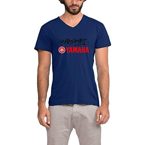 Iii V-neck - MeGo Shine Men's YAMAHA 3 Short Sleeve V-Neck T Shirts