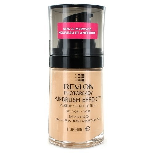 Revlon Photo Ready Airbrush Effect Makeup - Ivory (Pack of 2)