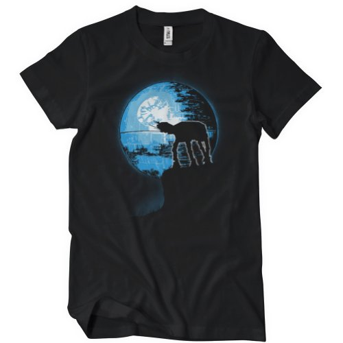 The Howling AT-AT T-Shirt Funny Adult Womens Cotton Tee Sizes S-2XL
