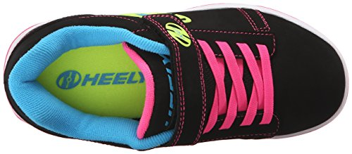 PU Dual Heelys X2 Multi Black up Neon rtBBqxUw