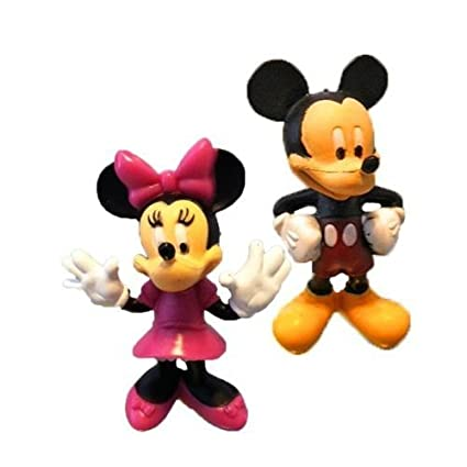 Amazon.com: Mickey and Minnie Mouse Figurine Set: Toys & Games