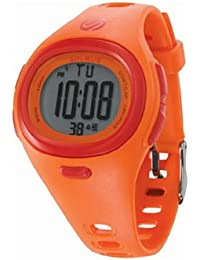 Men's SH005810 Heart Rate Monitor Orange Resin Digital Multi-Function HRM Watch
