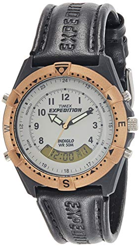 Timex Expedition Analog-Digital Beige Dial Men's Watch-TW00MF101