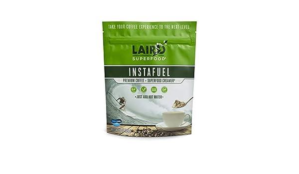 Laird Superfood Café instantáneo Instafuel Premium Plus crema - 1 Lb: Amazon.es: Alimentación y bebidas