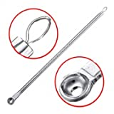 Big Bargain 1 Silver Stainless Mitesser Komedonen Akne Blemish Extractor Remover-Tool Hot