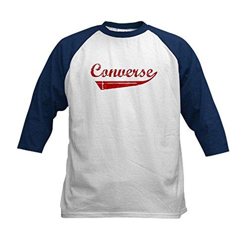 CafePress - Converse  Kids Baseball Jersey - Kids Cotton Bas