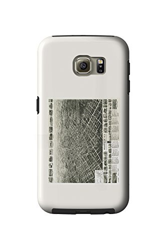 westfield-new-jersey-panoramic-map-galaxy-s6-cell-phone-case-tough
