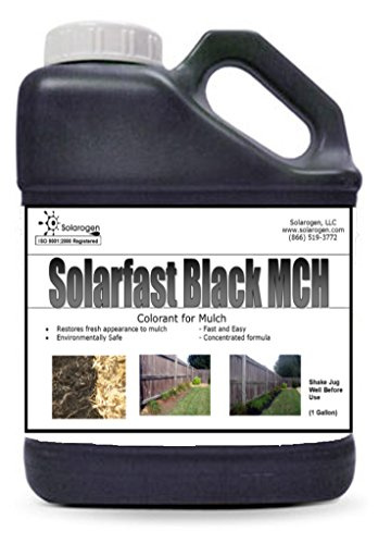 Solarfast Black Mulch Paint-10,000 Sq.ft by Solarfast