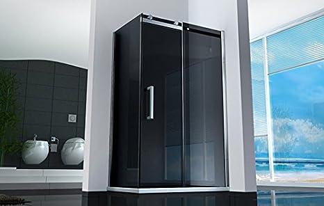 Box doccia in cristallo trasparente da mm con profili in alluminio