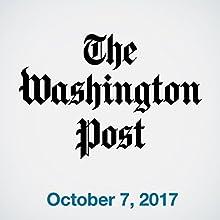 October 07, 2017 Magazine Audio Auteur(s) :  The Washington Post Narrateur(s) : Sam Scholl