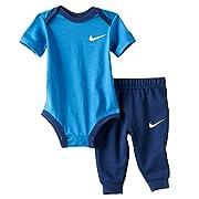 Nike Baby Boy Bodysuit & Pants 2 Piece Set