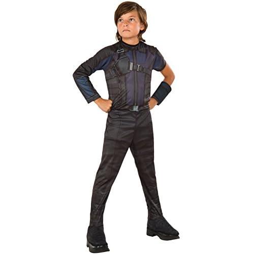 Rubies officiel Marvel Hawkeye Civil War, costume pour enfant–Petite