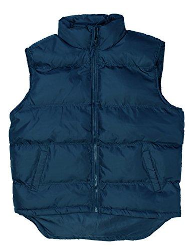 North 15 Men's Nylon Puffer Vest Nylon (Bubble Vest)