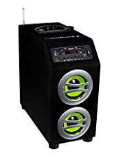 Wirelessly stream music from any Bluetooth-enabled device with A2DP technology Secure simple pairing for up to 30ft of operating range Built-in digital LED display Plays MP3 and WMA music through USB and SD card slots (supports up to 32GB of ...