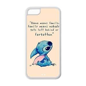 iPhone 5c Case - Lilo Stitch Cartoon iPhone 5c TPU Designer Case Cover Protector