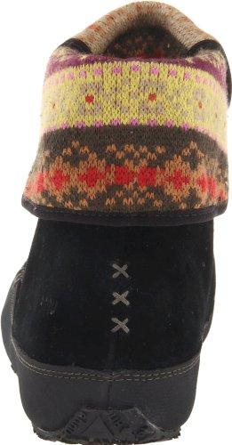 Ahnu Dames Himalaya Mocassin Zwart