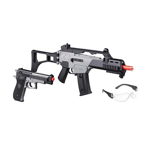 Game Face Electric Full-Auto Rifle/Pistol Affliction Airsoft Kit - GFRPKTG ()