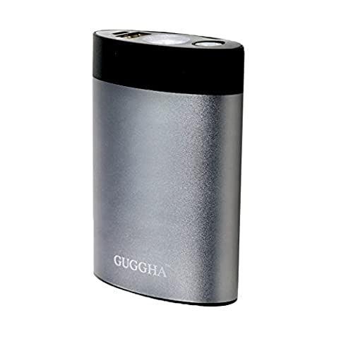 Warmer Hands Rechargeable Portable Charger for Samsung, iPhone smartphones, iPad Compatible with most Windows & Android devices by GUGGHA (gray 4400mAh, (How Much Does Windows 7 Cost)