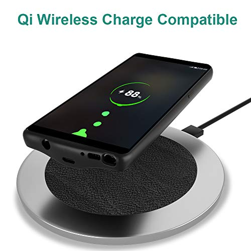 detailed look a01b8 af2da NEWDERY Upgraded Galaxy Note 8 Battery Case Qi Wireless Charging  Compatible, 5500mAh Slim Extended Rechargeable External Charging Case  Compatible ...