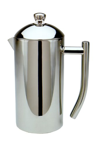 Frieling French Press Ultimo 17oz Insulated Stainless Steel Mirror Finish Coffee Press 17-Oz.