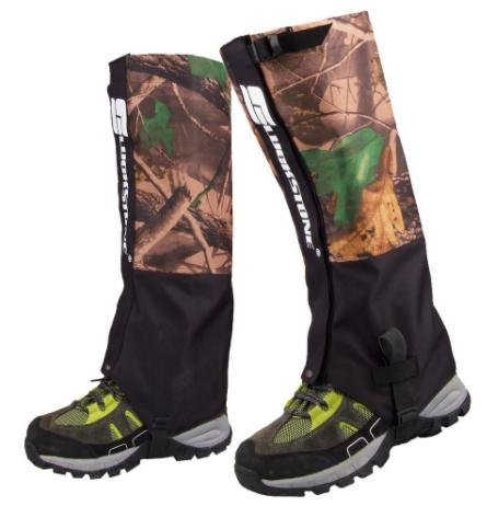 Outdoor Gaiters Ski Products 2Pcs/Set 2 Layers Waterproof Camouflage Trekking Gaiters for Hiking Hunting Camping - Patagonia Sunglasses