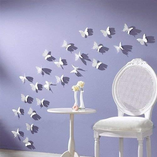 Amaonm 3D Butterfly Wall Stick Wall Decals Super for Girls Room Baby Wall Decor